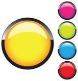 Modelo del botón Fotos de archivo libres de regalías