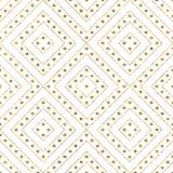 Modelo del brillo del oro de las líneas diagonales círculo Imágenes de archivo libres de regalías