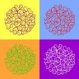 Modelo del círculo Imagen de archivo libre de regalías