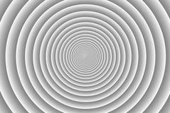 Modelo del círculo concéntrico stock de ilustración