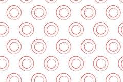 Modelo del círculo, ejemplo del vector del fondo Fotos de archivo