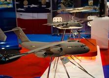 Modelo del C-17 de Boing Imágenes de archivo libres de regalías