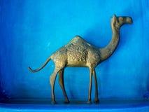 Modelo del camello, decoración de la casa del oro Fotos de archivo libres de regalías