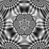 Modelo del campo eléctrico con formas onduladas abstractas Fotografía de archivo