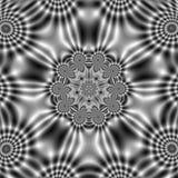 Modelo del campo eléctrico con formas onduladas abstractas Foto de archivo