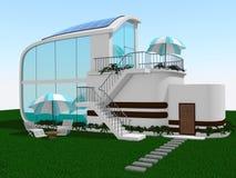 Modelo del casa o casero Foto de archivo libre de regalías