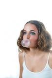 Modelo del chicle de globo Imagen de archivo libre de regalías