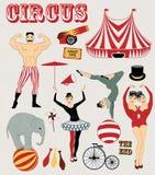 Modelo del circo Foto de archivo