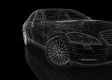 Modelo del coche 3D Foto de archivo