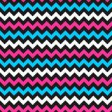 Modelo del color del zigzag Imagen de archivo