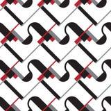 Modelo del constructivismo del Bauhaus stock de ilustración