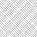 Modelo del control de la tela escocesa en gris en colores pastel, beige y blanco polvorientos Textura inconsútil de la tela Impre ilustración del vector
