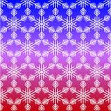 Modelo del copo de nieve sin la costura libre illustration