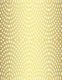 Modelo del cordón en fondo del oro Foto de archivo libre de regalías