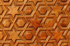 Modelo del corte en la madera Fotos de archivo