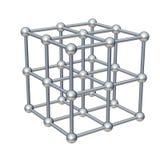 Modelo del cubo stock de ilustración