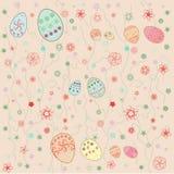 Modelo del día de fiesta para Pascua Foto de archivo libre de regalías