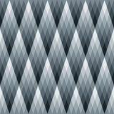 Modelo del diamante del gradiente fotografía de archivo