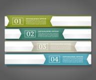 Modelo del diseño de Infographics Fotografía de archivo