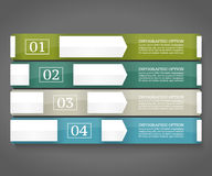Modelo del diseño de Infographics Imagen de archivo