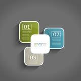 Modelo del diseño de Infographics Imagenes de archivo