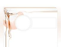 Modelo del diseño de Web libre illustration