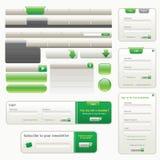 Modelo del diseño del Web site libre illustration