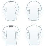Modelo del diseño de la camiseta Imágenes de archivo libres de regalías
