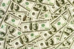 Modelo del efectivo del dinero Imágenes de archivo libres de regalías