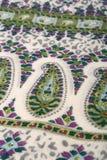 Modelo del estilo chino hecho de las bufandas de la tela Fotografía de archivo libre de regalías