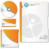 Modelo del folleto Imágenes de archivo libres de regalías