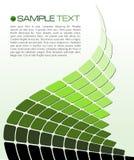 Modelo del folleto Imagenes de archivo
