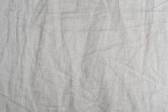 Modelo del fondo de Gray Textile Texture arrugado Fotografía de archivo libre de regalías