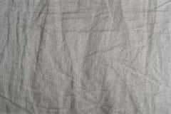 Modelo del fondo de Gray Textile Texture arrugado Foto de archivo libre de regalías