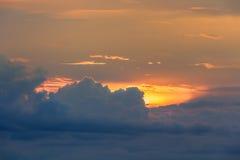 Modelo del fondo de la nube Fotografía de archivo