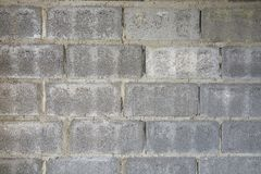 Modelo del fondo de la pared del bloque de escoria, textura del ladrillo imagen de archivo