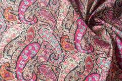 Modelo del fondo de la textura Adorno floral del vintage de Paisley étnico Foto de archivo libre de regalías