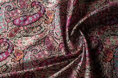 Modelo del fondo de la textura Adorno floral del vintage de Paisley étnico Imagen de archivo libre de regalías