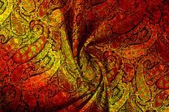 Modelo del fondo de la textura Adorno floral del vintage de Paisley étnico Fotos de archivo libres de regalías