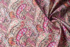 Modelo del fondo de la textura Adorno floral del vintage de Paisley étnico Imágenes de archivo libres de regalías