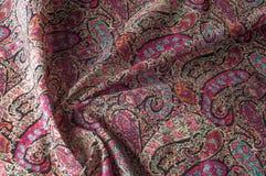 Modelo del fondo de la textura Adorno floral del vintage de Paisley étnico Fotografía de archivo