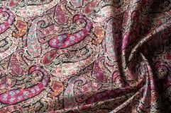 Modelo del fondo de la textura Adorno floral del vintage de Paisley étnico Foto de archivo