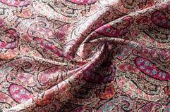Modelo del fondo de la textura Adorno floral del vintage de Paisley étnico Imagenes de archivo