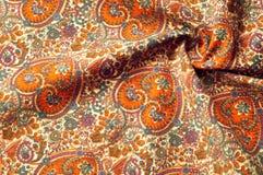 Modelo del fondo de la textura Modelo tradicional de Paisley del indio Imágenes de archivo libres de regalías