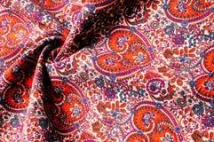 Modelo del fondo de la textura Modelo tradicional de Paisley del indio Fotos de archivo libres de regalías