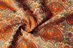 Modelo del fondo de la textura Modelo tradicional de Paisley del indio Foto de archivo libre de regalías