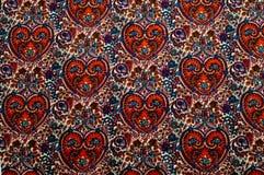 Modelo del fondo de la textura Modelo tradicional de Paisley del indio Fotos de archivo