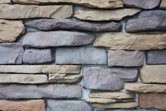Modelo del fondo decorativo de la pared de piedra de la pizarra Foto de archivo