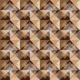 Modelo del fondo del cuadrado de Brown Imagenes de archivo