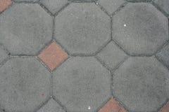 Modelo del fondo del piso del ladrillo del cemento Fotografía de archivo